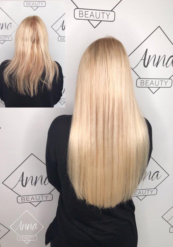 Haarverlängerung und Haarverdichtung