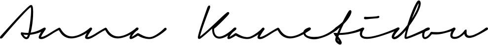 Anna Beauty Stuttgart Unterschrift